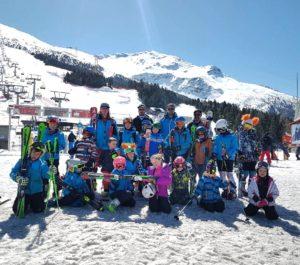 BSK Cicibani i Pahulje na treningu u Bormiu_Italija
